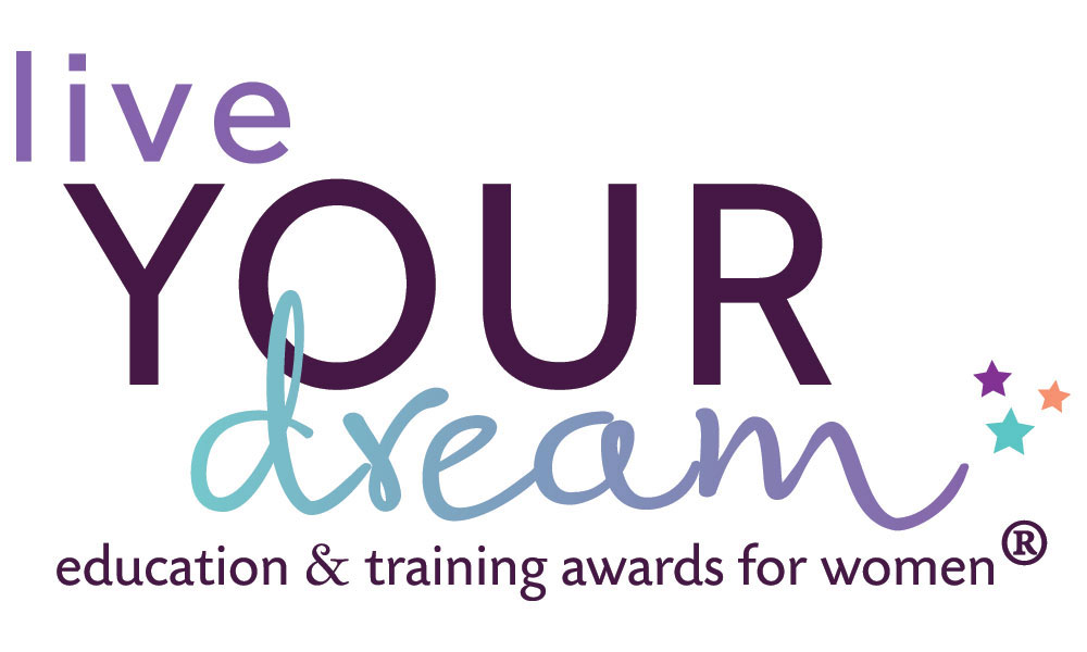 Live Your Dream (education & Training Awards for Women) logo
